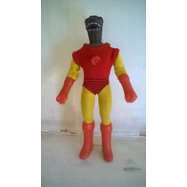 Mego Corp Vintage 1974 Traje De Iron Man Y Gorn Star Trek.