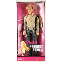 Juguete Barbie Fashion Fever Ken Muñeca Nueva Cara