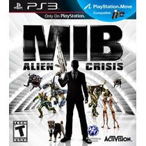 Ps3 Move - Men In Black Alien Crisis (mercado Pago Y Oxxo)