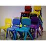 Sillas Plasticas Para Niños Y Kinder Garden, Colegios