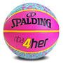 Balón De Básquet Spalding N6 Para Mujer.colores Ùnicos!