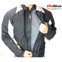 Campera Motociclista Proskin Thermal Iii Negra Talle L - Brm