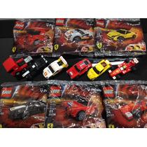Coleção Shell - 6 Mini Carros Lego Ferrari
