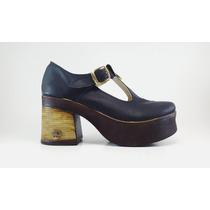 Sueco Taco Campana Mk Shoes Nueva Coleccion