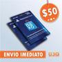 Playstation Network Card Cartão Psn $50 Dólares Usa Imediato