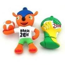 Memoria Usb Mundial Futbol Brazil 2014