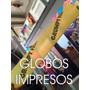 1000 Globos De Cancha Impresos Con Tu Logo