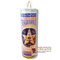 Veladora Compuesta Tetragrammaton - Aleja Malas Vibras