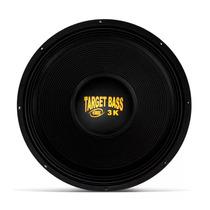 Woofer Eros Target Bass 3.0k 18 Polegadas 1500w Rms 4 Ohms
