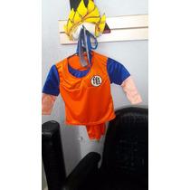 Disfraz Goku Super Sayayin Dragon Ball Z Accesorios Talla