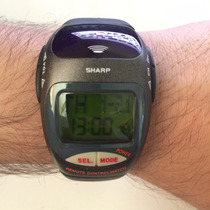 Relógio Controle Remoto Universal Ir Sharp Importado