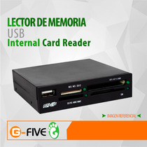 Lector De Memoria Usb Interno Card Reader
