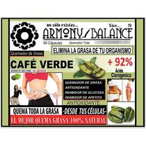 Cafe Artesanal Verde Extracto Natural 100% Armonybalance