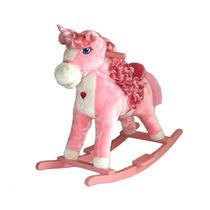 Pony Caballo Rosa Niñas Mecedora Caballito Unicornio