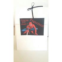 Bolsas Golosineras Personalizadas Hombre Araña Souvenir