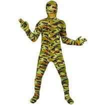 Disfrz Niño Traje De Comando Kids Morphsuit Vestido De Lujo