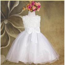 Vestido Infantil Bebê Menina Casamento Batizado Promoção