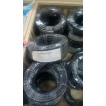 Cable Coaxial Rg6 75 Ohm 95%malla +conectores De 10 Metros