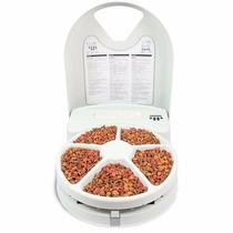 Alimento Comedouro Automático Amicus Eatwel Lite 5 Refeições