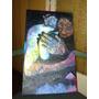 Pintura Abstracta En Oleo Sobre Tela