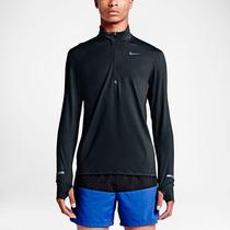 Camisa Manga Longa Nike Dri-fit Element Half-zip Running