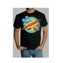 Camiseta O Playera De Tom Y Daly Los Simpson 100% Calidad