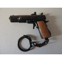 Chaveiro De Revólver De Espoleta Em Miniatura - Clássico