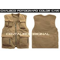 Chaleco Fotografo , Cazador 4 Bolsas.