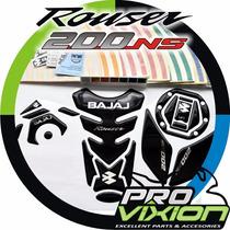 Kit Protectores+ Cintas Reflectivas- Moto Bajaj Rouser 200ns