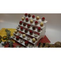 Cupcakes Escalera Plástica Ponquecitos,shots, Bombones