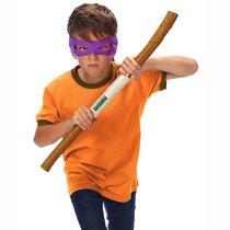 Kit De Acessórios Tartarugas Ninja - Donatello - Multikids