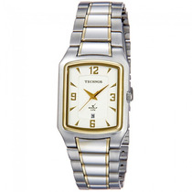 Relógio Technos Feminino Prateado Classic Golf 1n12ab/5x