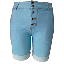 Bermuda Jeans Boyfriend 38 Ao 54 (tamanhos Grandes)