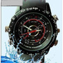 Reloj Con Camara Espia-memoria 8gb-toma Fotos-video/audio