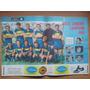 Lamina Original Equipo Boca Juniors Campeon 1962