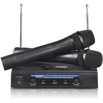 Microfone Sem Fio Duplo Receptor Palestra Escola Igreja