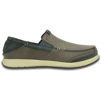 Zapato Crocs Caballero Walu Express Leather Loafer