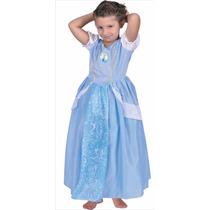 Disfraz De La Cenicienta De Disney Licencia New Toys