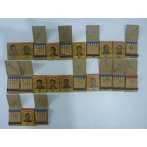Caixas De Fósforo Autografadas Seleção Brasileira Copa 1958