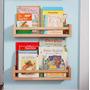 Prateleira Infantil Livros - Mdf Cru 40cm