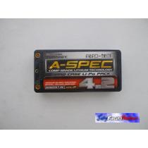 Bateria Li-po 2s 4200mah 7.4v 65-130c Hard Case A-spec Gold!