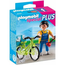 Retromex Playmobil 4791 Especial Fontanero Bicicleta Ciudad