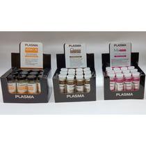 Ampollas Plasma 3 Cajas De 12 Unidades Keratin Mix Choco