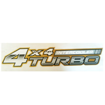 Adesivo Dourado Hilux 4x4 Turbo Intercooler