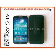 Clip Combo Protector Samsung Galaxy S4 I9500 Negro Barato !!