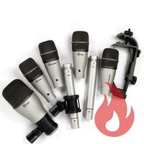 Samson 7kit . Kit Com 7 Microfones Para Bateria . Loja . Nfe