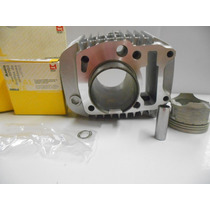 Kit Motor Completo Cilindro Pistao Metal Leve Biz 125 Es/ks