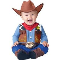 Disfraz De Vaquero Para Bebe 6 Meses. Nuevo.