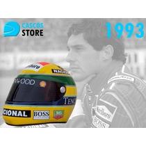 Casco Automovilismo Competicion Replica Ayrton Senna