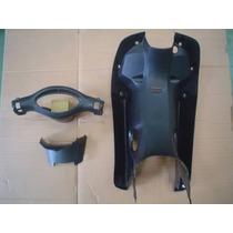 Kit Cubre Piernas Corven Energy 110cc Negro - Dos Rueda Moto